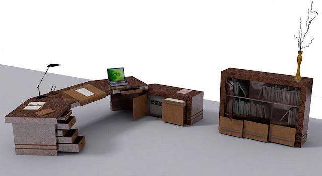 Elegant CEO Office Design - azee