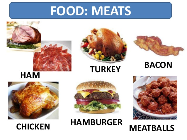 English Honori Garcia: Food: Meat & Fish