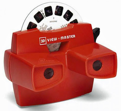 Red 3D View Master