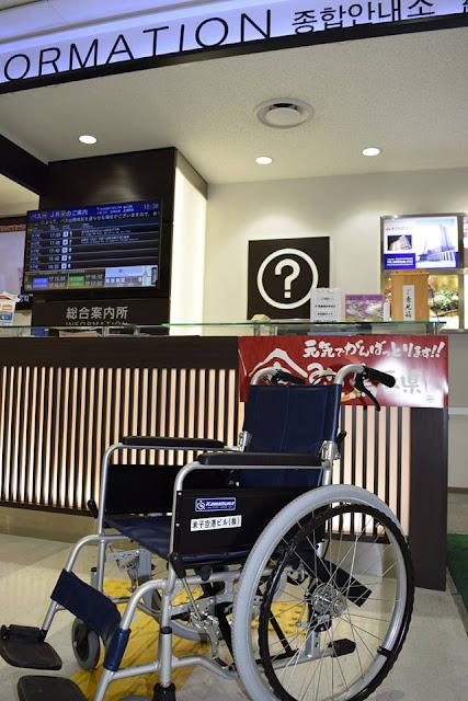 【米子鬼太郎空港 施設のご案内】