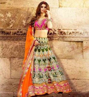 lehenga-choli-with-dupatta-designer-wedding-lehengas