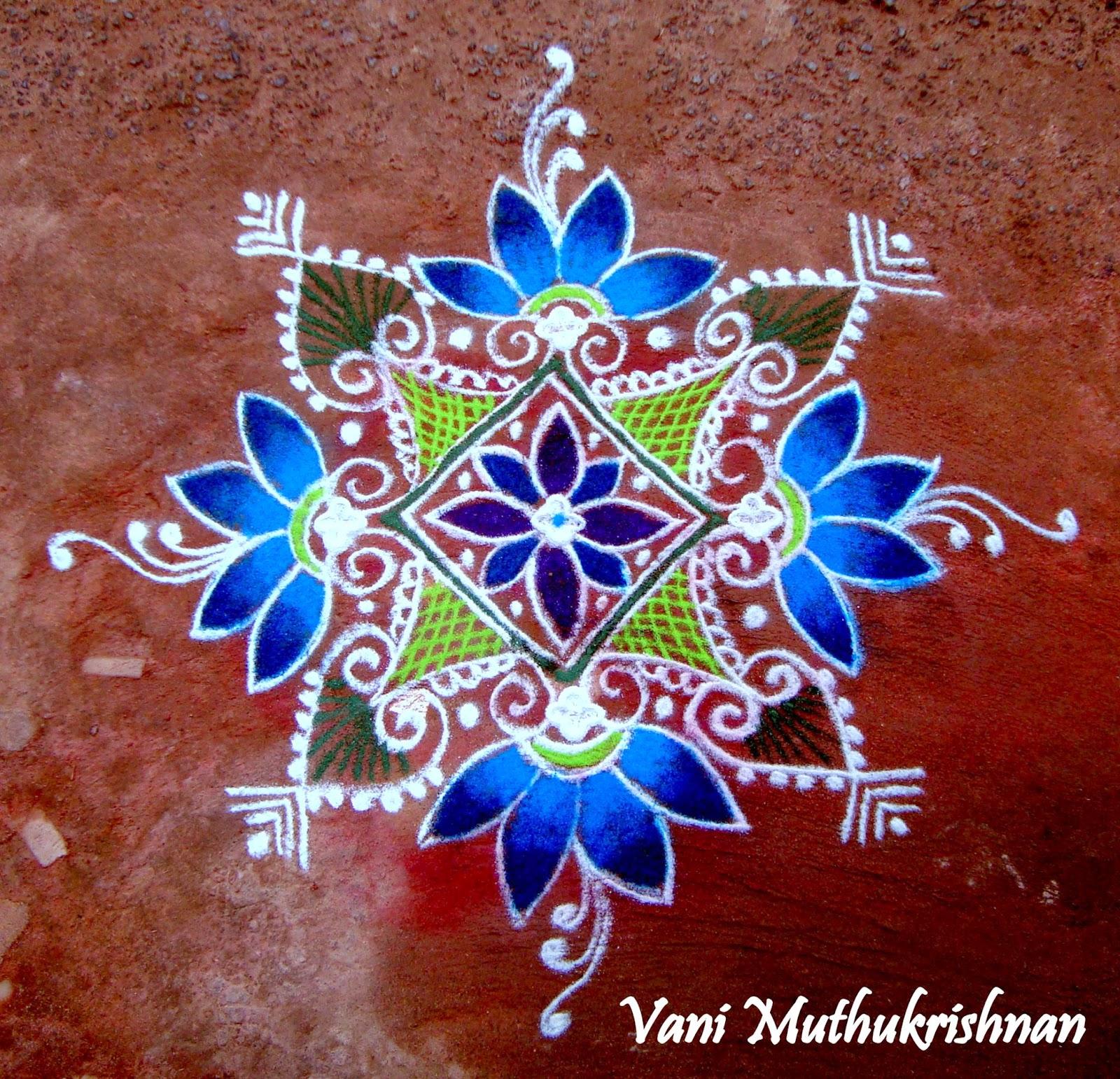 Kolam Designs 34