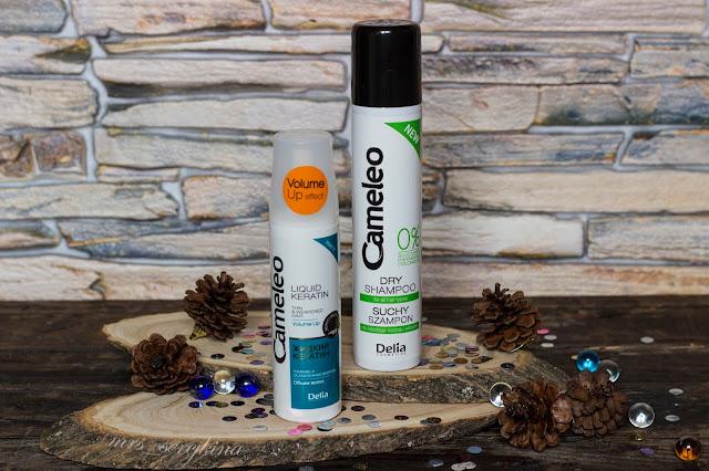Жидкий кератин и сухой шампунь Cameleo BB Delia Cosmetics