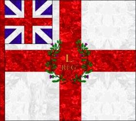 50th Regiment of Foot (William Shirley)  Regimental Colour