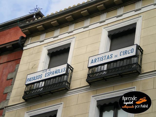 club de artistas de circo