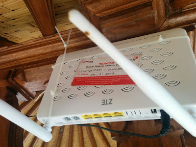 Belum sebulan router Indihome sudah rusak