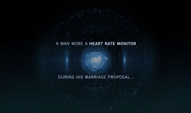 Heartbeat During a Marriage Proposal
