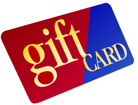 Gift Cards Now Available