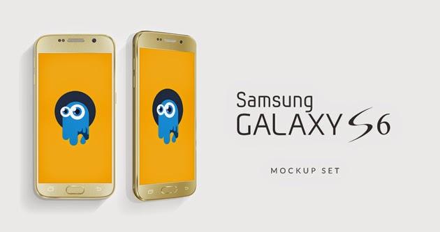 24 Free Smartphone Samsung Galaxy PSD Mockups