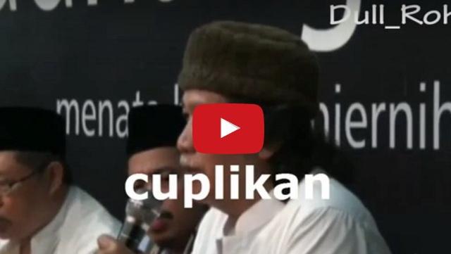 VIDEO: Begini Tanggapan Cak Nun Terkait Pidato Megawati Tentang Akhirat, Sungguh Mengejutkan