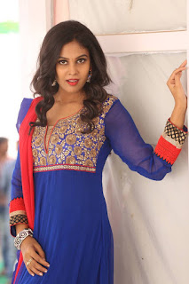 Actress Chandini Pictures in Salwar Kameez at Kalyan Cine Creations Movie Launch  0036
