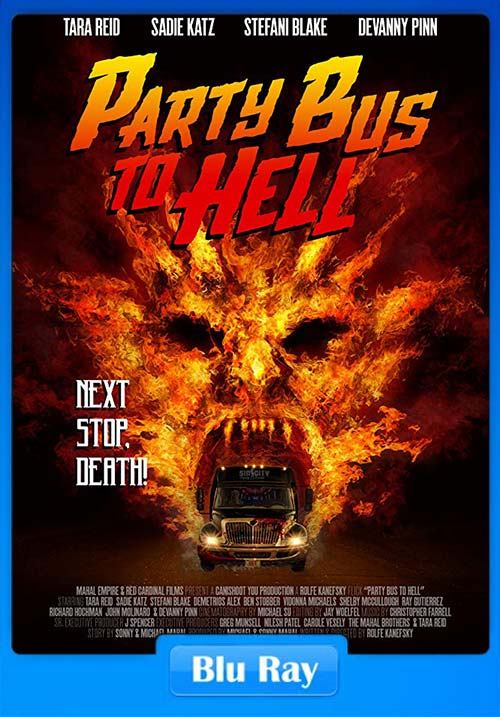Party Bus To Hell 2017 720p BluRay Dual Audio English x264 | 480p 300MB | 100MB HEVC