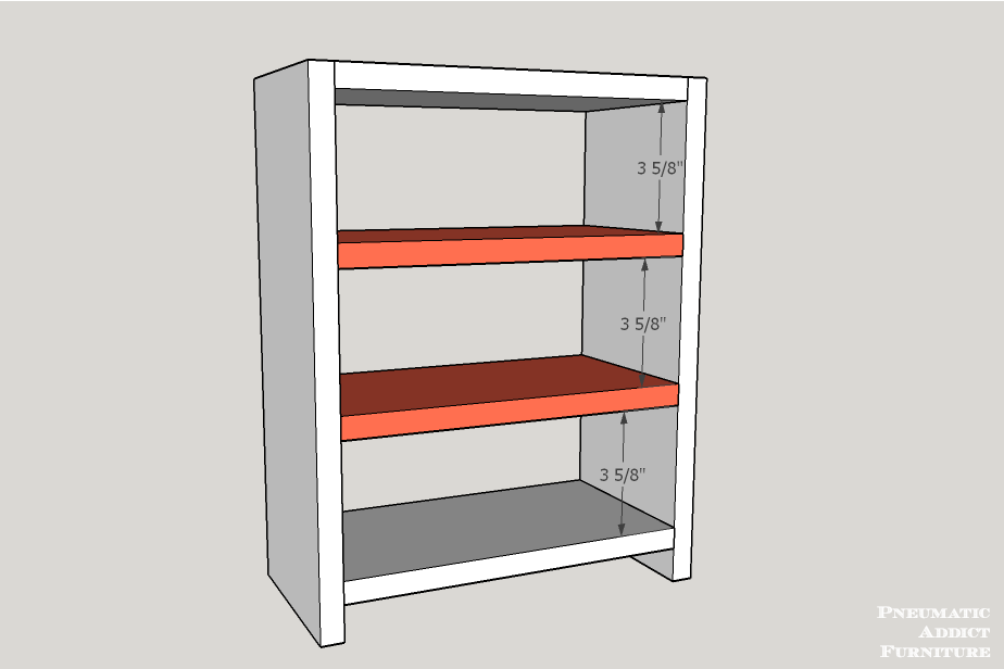 Counter Top Storage Drawer Building Plans Pneumatic Addict