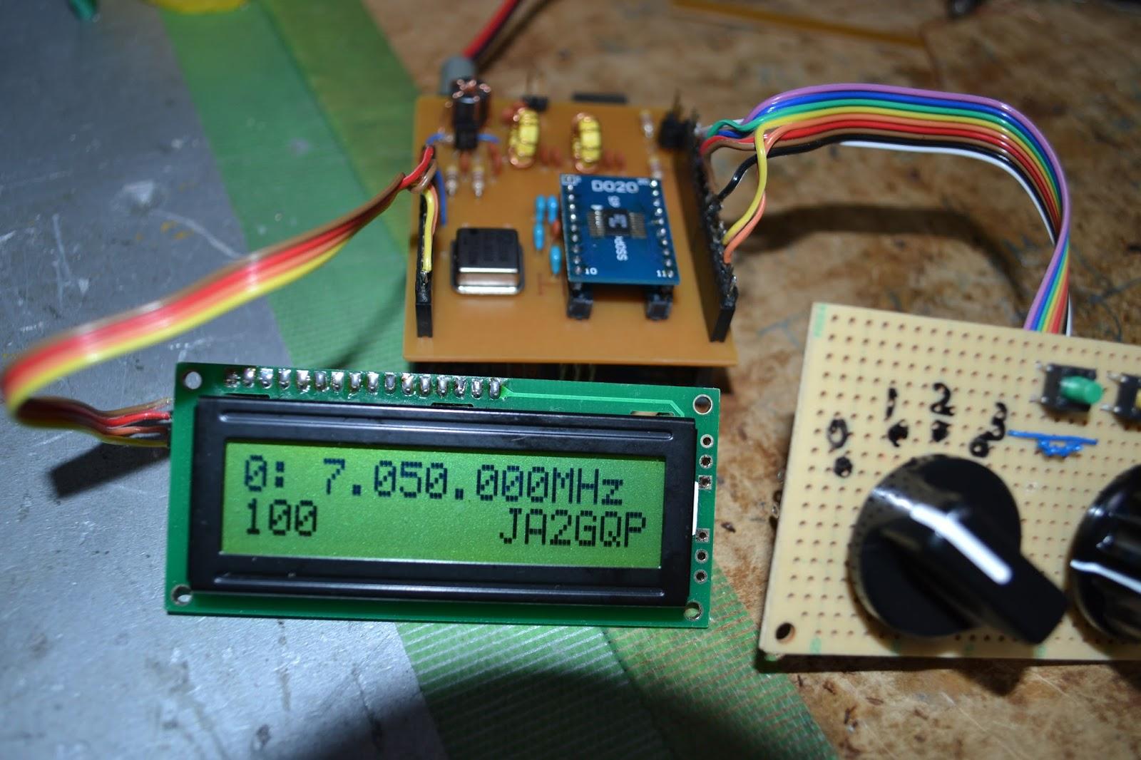 JA2GQP's Blog: Arduino AD9834 DDS VFO PCB版