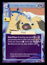 My Little Pony A Cuddle with a Pekingese CCG Cards