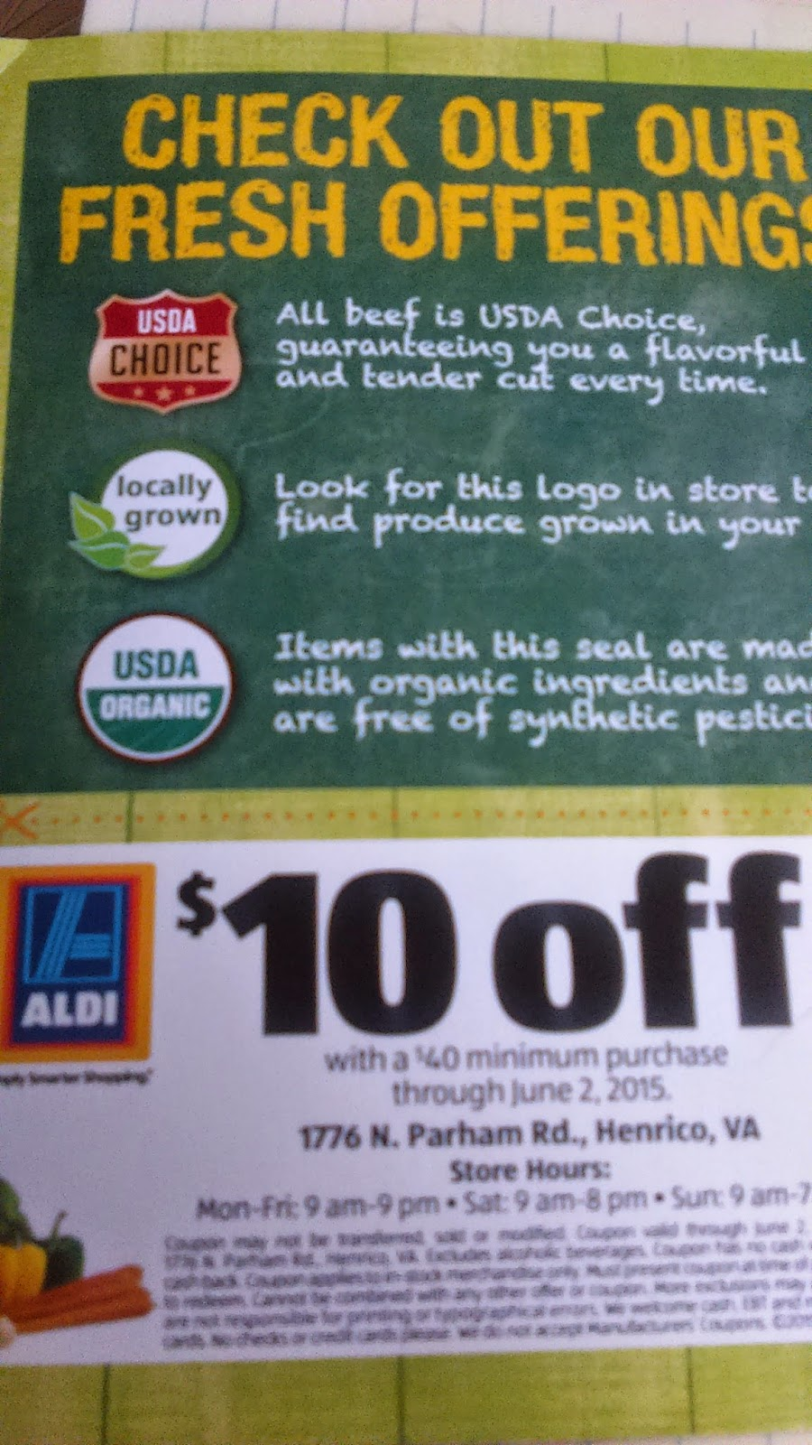 Aldi coupons discounts