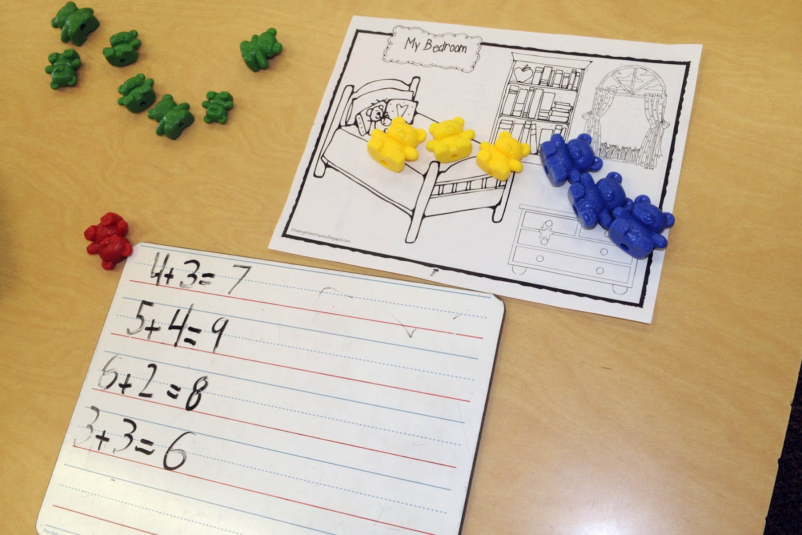 Mrs Ricca S Kindergarten Fun With Addition