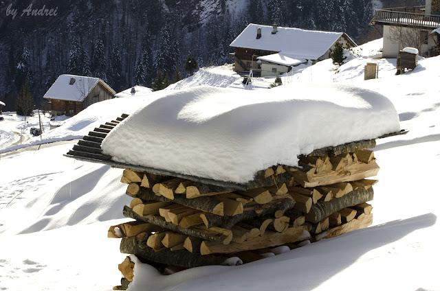 Giettaz-en-Aravis, Masivul Beaufortain, Alpii Francezi,