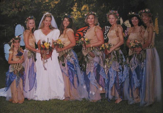 Ridiculous Vintage Bridesmaid Dresses That Didn't Stand