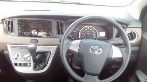 Interior Toyota Calya Indonesia