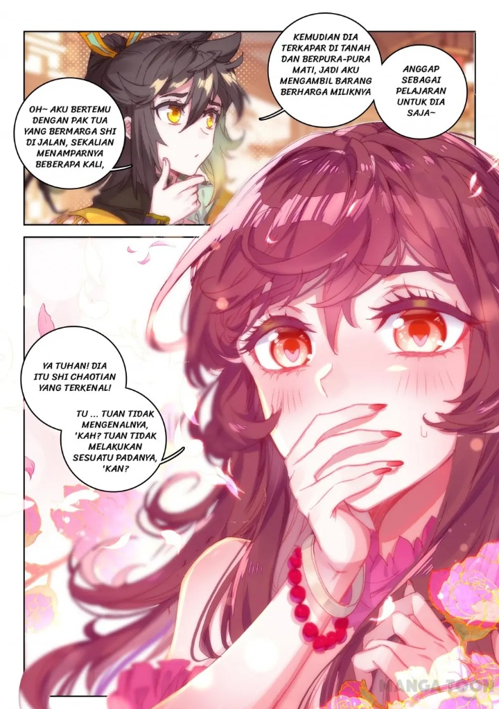 the divine punished one chapter 104  105 bahasa indonesia
