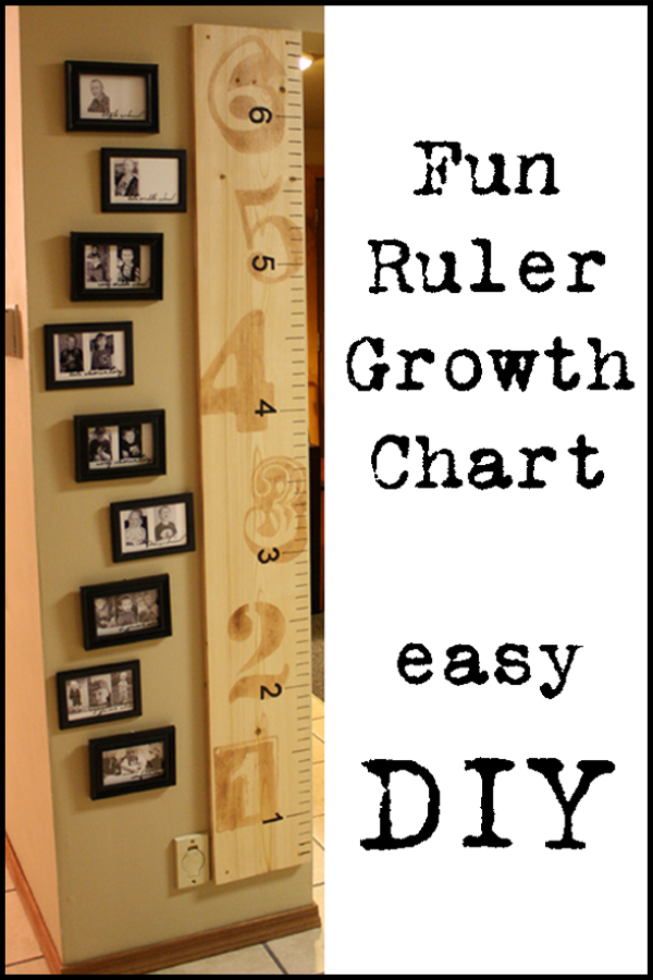 Adventures In Decorating Amp Design Ruler Growth Chart