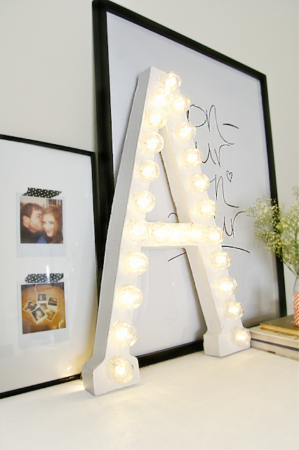 marquee1 New Years Eve DIY Inspiration | Grey Likes Nesting DIY Marquee Letters For Decor Or Party!
