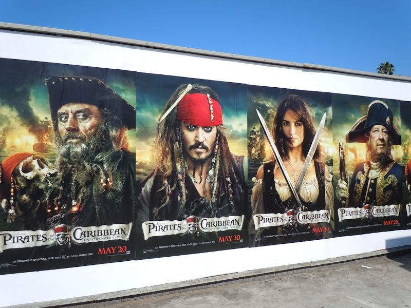 Pirates On Stranger Tides posters