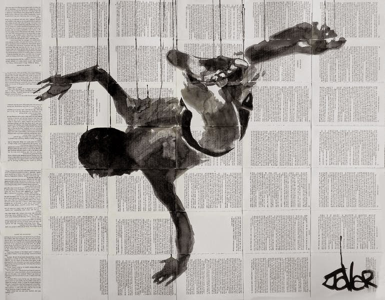 15-Gravity-Loui-Jover-Drawings-on-Book-Pages-www-designstack-co