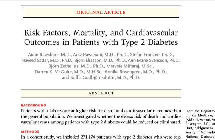 factores de riesgo cardiovascular en diabetes