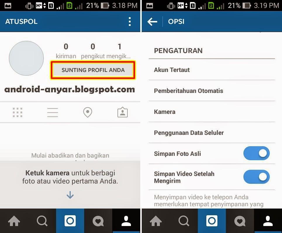 Cara otomatis upload foto video Instagram ke Facebook dan Twitter