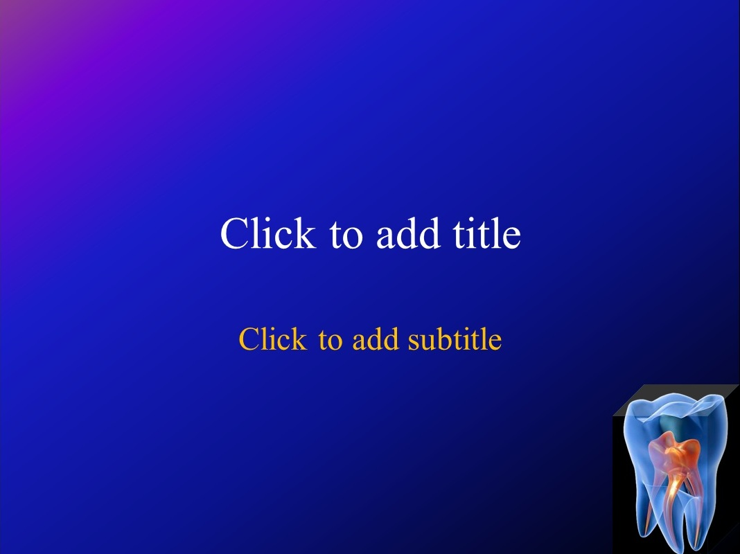 Animated Dental Powerpoint Template Free Free Medical