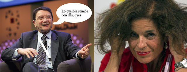 Ana Botella triunfa como clown en la OMT