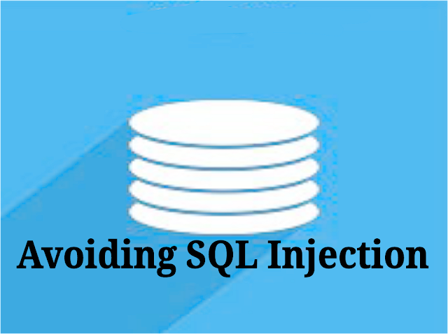 avoid sql injection