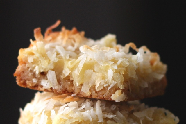 Barefeet In The Kitchen Pineapple Coconut Bars