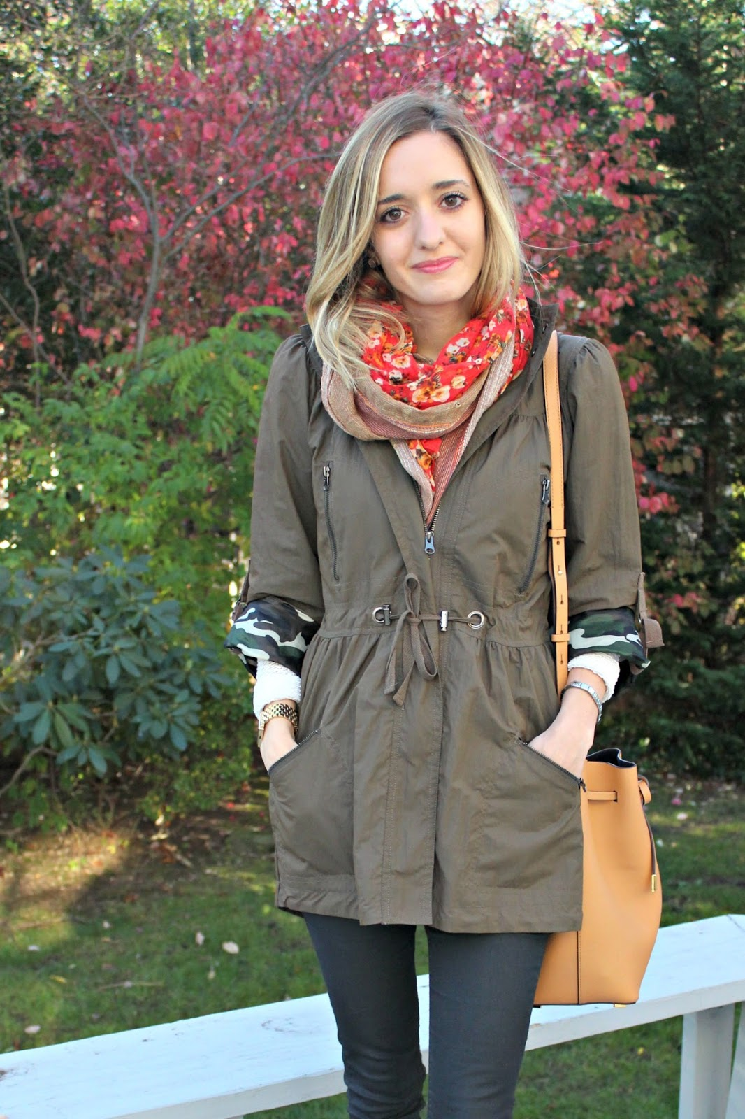 how to wear an anorak in fall