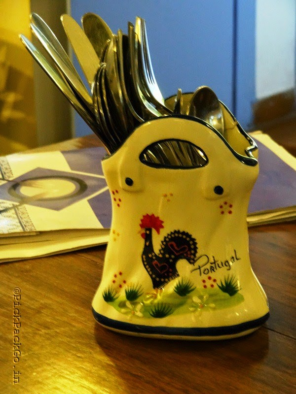 The legendary Rooster of Barcelos - A common Portuguese Symbol