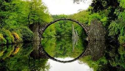 Jembatan Rakotz Jerman