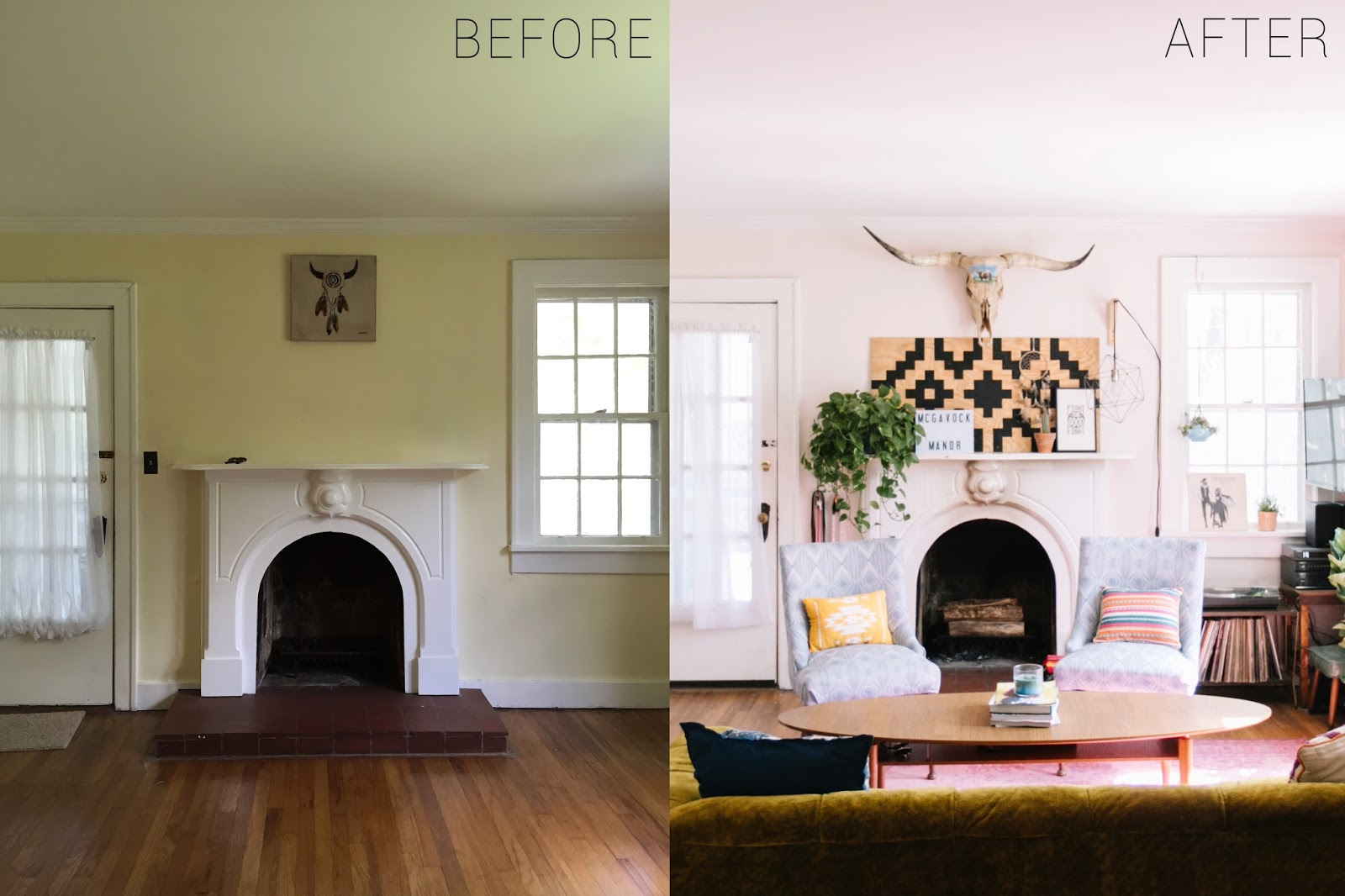 Captivating Before And After // Living Room Part 32
