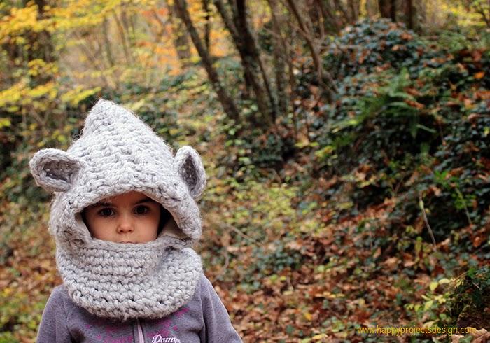 Crochet: gorro oso