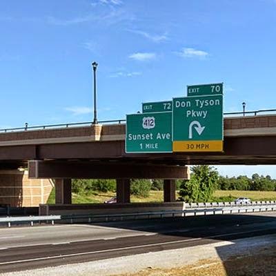 ACEC Recognizes Garver for Don Tyson Parkway Interchange