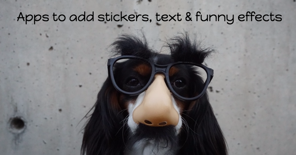 9 Best iPhone Apps to add Sticker, Text & Fun Effects to your Photos ...