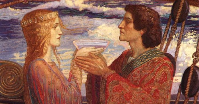 Painting Is Silent Poetry Tristan And Iseult