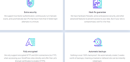 Secure, Hosting, Kinsta