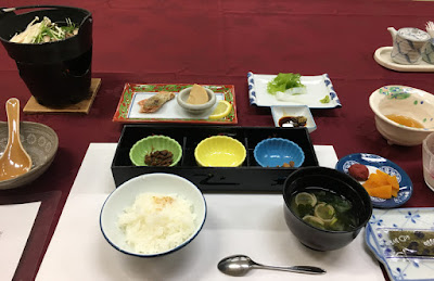 須賀谷温泉の朝食