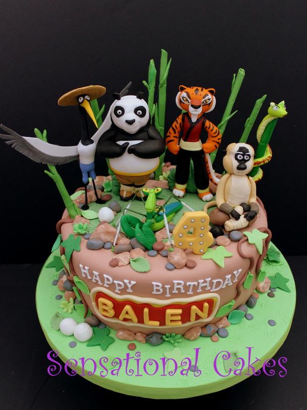 The Sensational Cakes Kung Fu Panda 3d Character Cake
