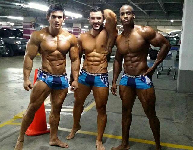 Amigos, Musculação, Fitness, Muscles, Fortes, Definição, Homens