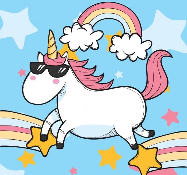 Imágenes Kawaii Unicornios Tiernos Hermosos