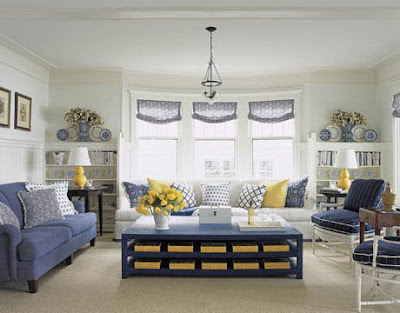 blue and yellow living rooms blue amp white w a splash of color part 3 b b 21591