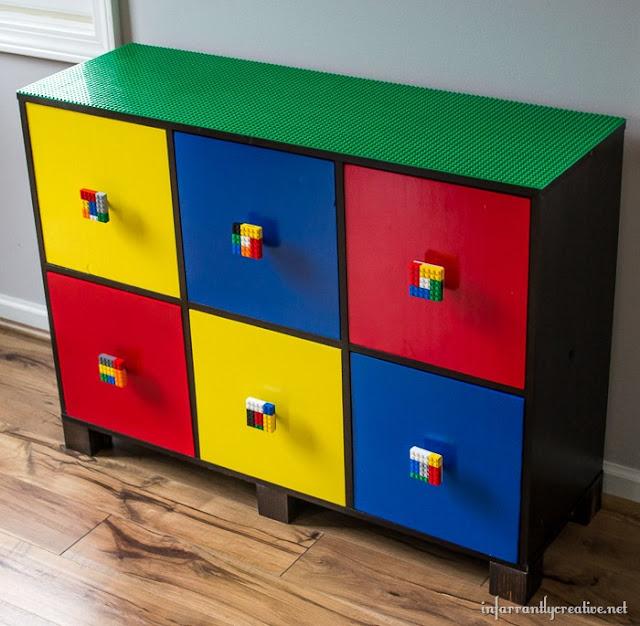 custom lego dresser